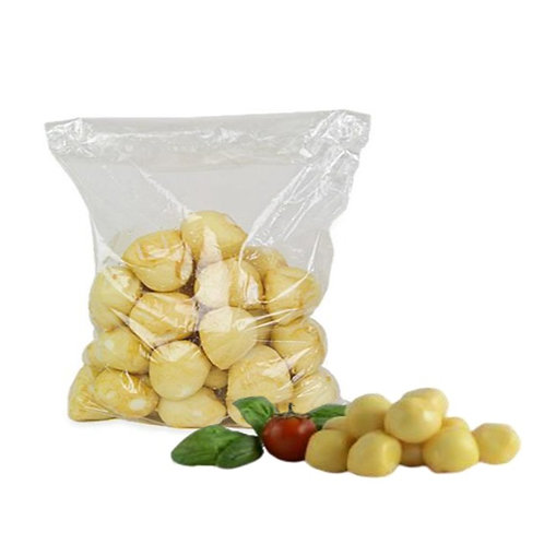 100% Cow Milk Smoked Cherry Italian Mozzarella 18gr x pcs  - 1000gr bag