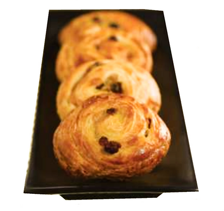 Mini Raisin Butter Twirl Croissant 30gr 150pcs