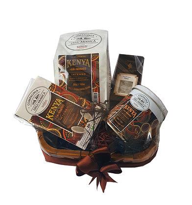 """KENYA Coffee Puro Arabica """"AA"""" Washed - Intense Gift Hamper"""