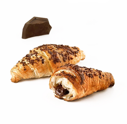 Butter Croissant Filled with Chocolate - 60pcs