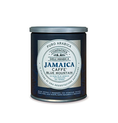 Jamaica Blue Mountain Pure Arabica Ground Coffee -250gr Tin
