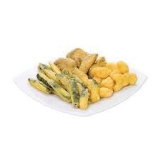 Mixed battered vegetables  - 1kg bag
