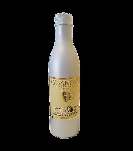 Balsamic Classic Cream Glaze in PET Bottle - Classic 600 gr.