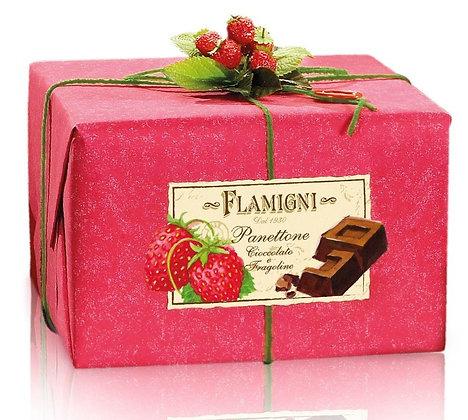 Panettone Gourmet Chocolate & Strawberries