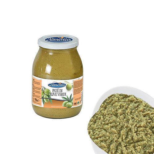 Green Olive Pate - ALIMENTIS - 910 g