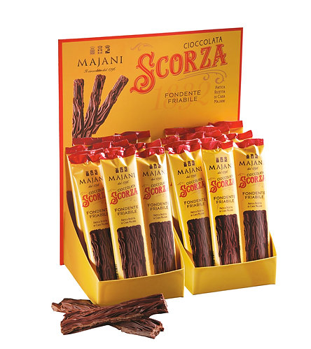 SCORZA Stick Dark chocolate crumbly texture  1 pcs - 12gr