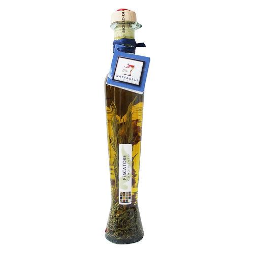 Extra Virgin Olive Oil & Seafood Spices Elegant Bottle 250ml