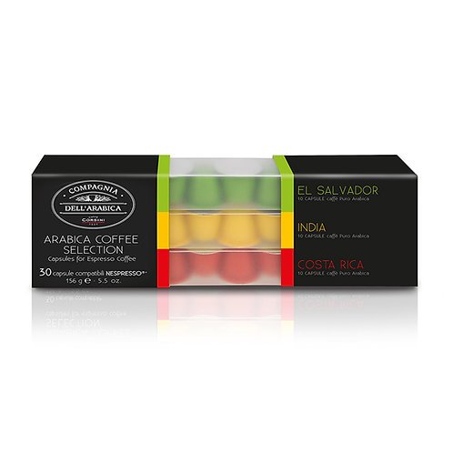 Giftset Arabica Coffee Selection Capsules 30 X 5.2gr