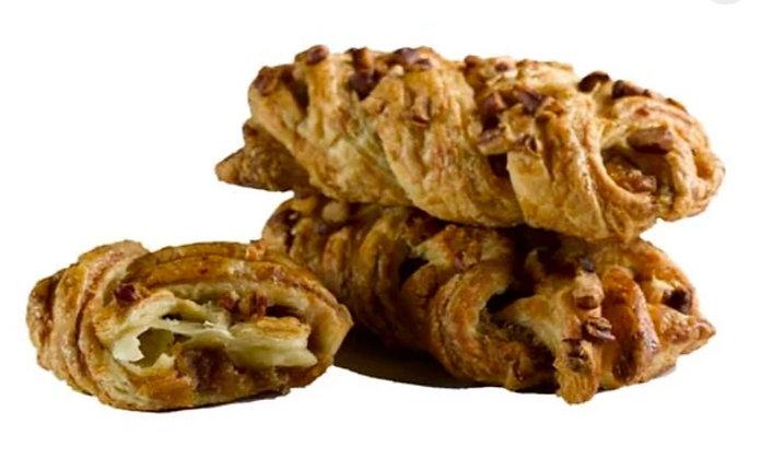 Pecan & Maple Syrup Intreccio Croissant - 95gr. x 60pcs