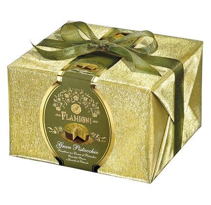 Italian Luxury Panettone with Pistachio Cream 950g