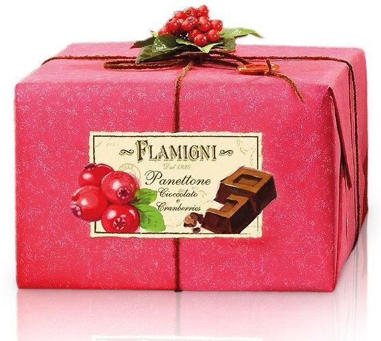 Panettone Gourmet Chocolate & Cranberries