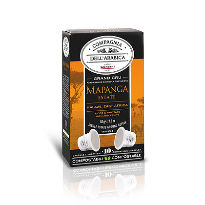 Mapanga Malawi Estate Grand Ecru 10 X 5.2gr Packet - Capsules