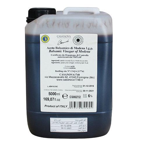 Balsamic Vinegar of Modena IGP in PlasticTank