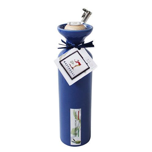 Extra Virgin Olive Oil in Ceramic Dispenser (Blue) 250ml
