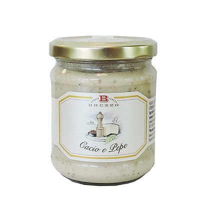 """""""Cacio"""" Cheese with Pepper Sauce - 180 gr"""