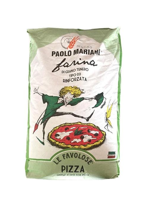 Wheat Flour Type '00' Pizza (Rinforzata) Paolo Mariani 25 kg
