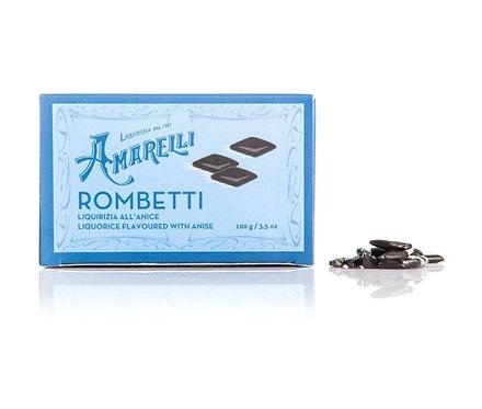 AMARELLI Rombetti Liquorice Flavored with Anise  - 100mg