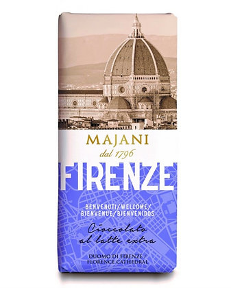 FIRENZE - Milk Chocolate Table by MAJANI  since 1796 100gr