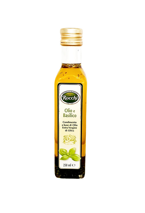 Extra Virgin Olive Oil with Basil - 250 gr
