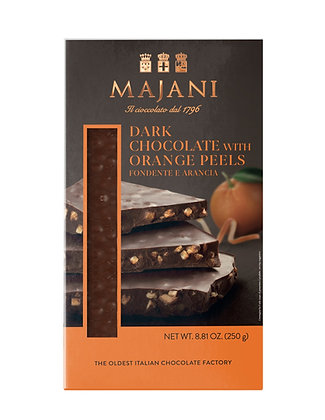SNAPS Dark Chocolate Orange Peel 250gr