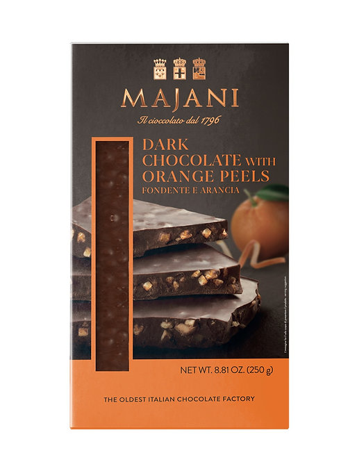 SNAPS Dark Chocolate Orange Peel 250gr
