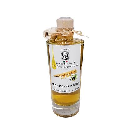 Extra Virgin Olive Oil with Mustard & Juniper 200ml