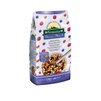 Muesli with Wild Berries & Honey - Venosta 1kg