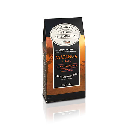 MAPANGA MALAWI ESTATE GRAND CRU 250GR PACKET - GROUND