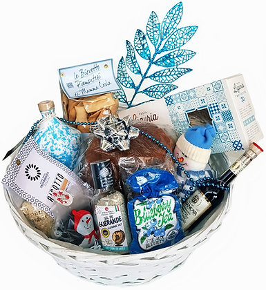 Luxury Blue Mountain Gourmet Panettone Gift Hamper