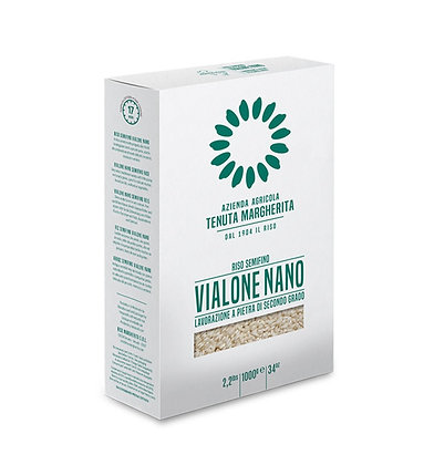 Stone Ground - Vialone Nano Rice Vacuum pack 1kg