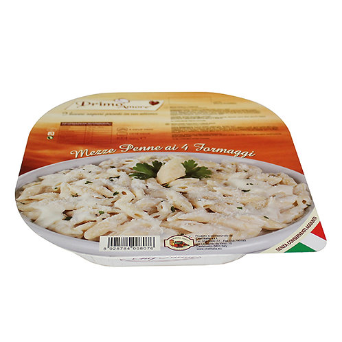 Monoportion Mezze Penne with 4 Cheese Sauce - 300gr