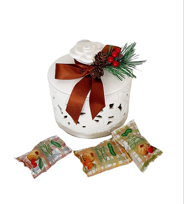 Hearth of Fruits Fine Biscuits in Gift Jar