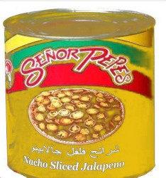 Nacho Sliced Jalapeno Peppers 2.75kg
