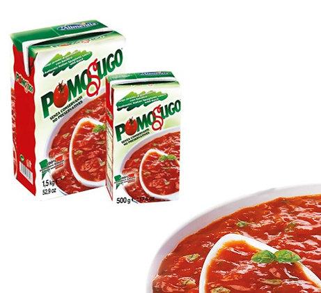 Pomosugo - Tomato Spaghetti Sauce with Basil - Alimentis - 1.5kg