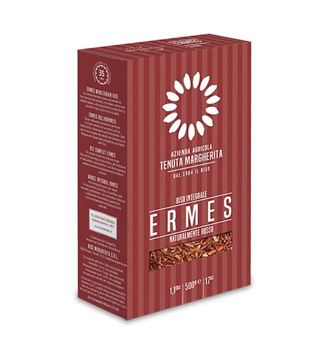 Stone Ground - Red Ermes Rice  - Vacuum Pack 500g