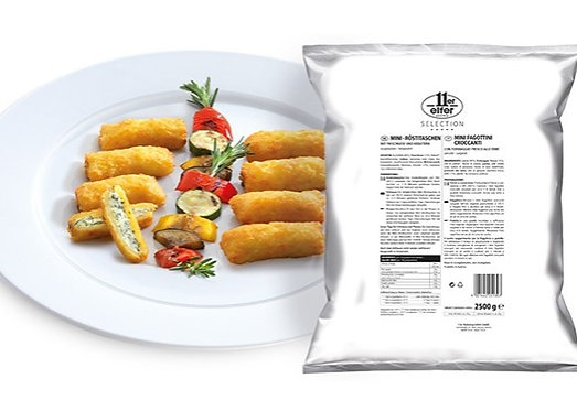 Mini Rosti Pockets Filled with Cream Cheese & Herbs - 2.5kg