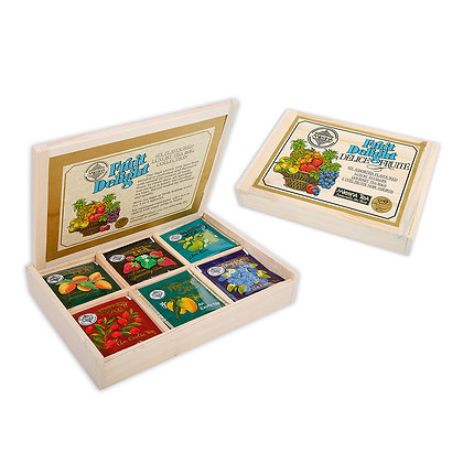 Fruit Delight  Tea Collection in Gift Wooden Box