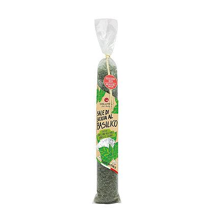 Flavoured Sicilian Salts Basil 420gr