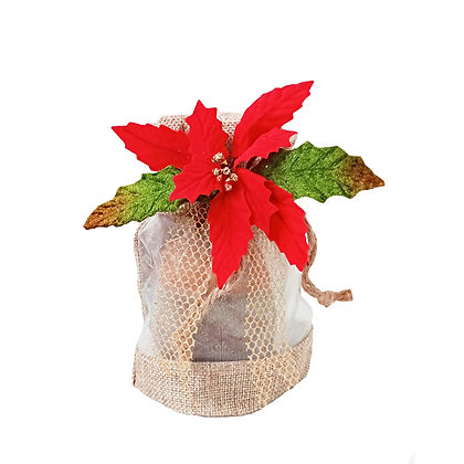 Santa Star Gift Box Panettone