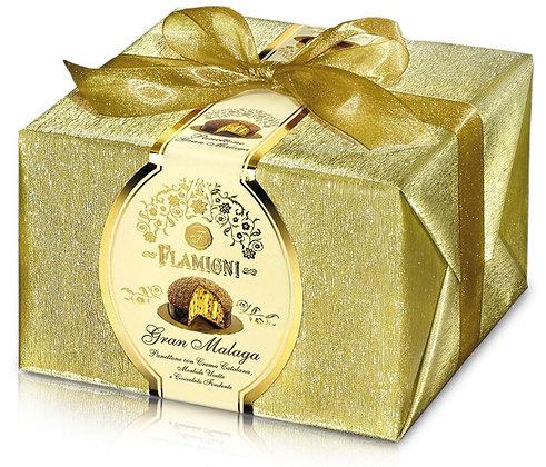Italian Luxury Panettone with Gran Malaga Cream 950g