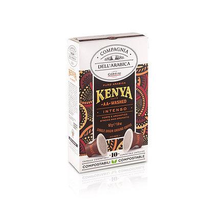 KENYA AA WASHED 10 X 5.2GR PACKET - CAPSULES