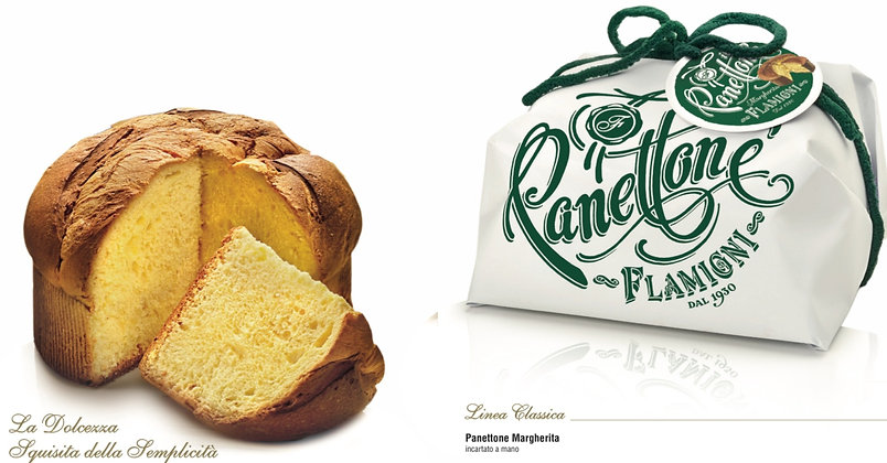Margherita Italian Panettone  Hand Wrapped - 750g