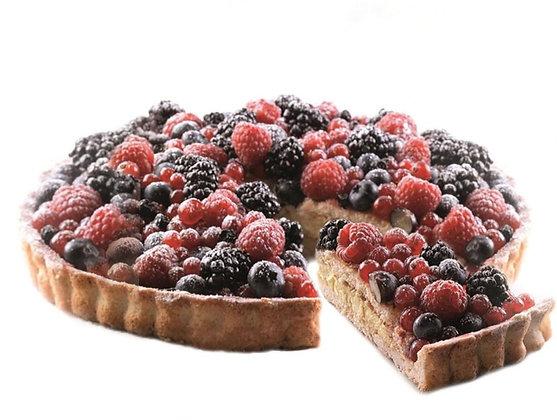 Mixed Wild Berry Cake