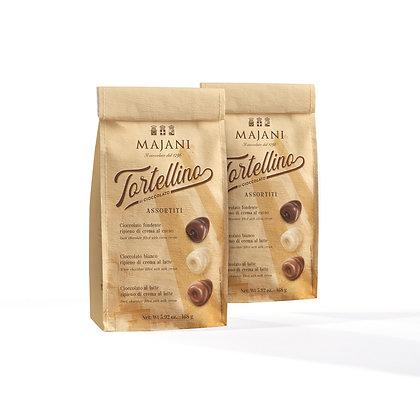 TORTELLINO TAKE AWAY Corky bag with 21 assorted Tortellino, 168gr