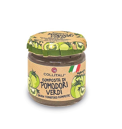 Italian Green Tomatoes Compote 110gr
