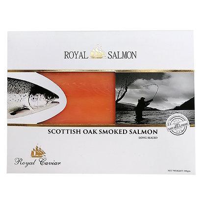 Scottish Oak Smoked Salmon Long Sliced -  100g