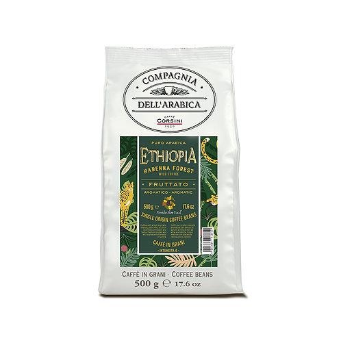 Etiopia Harenna 500gr - Packet - Beans 500g