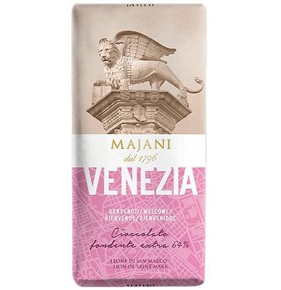 VENEZIA - Dark Chocolate Extra 64% Bar by MAJANI 1796 - 100gr