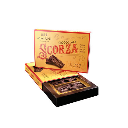 SCORZA Box Dark chocolate crumbly texture box 150gr