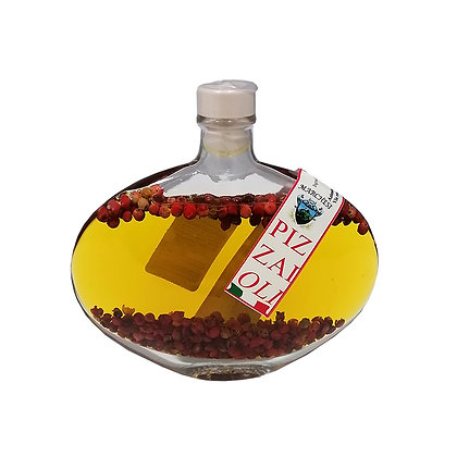 Extra Virgin Olive Oil with Pink Pepper for Pizza 100ml